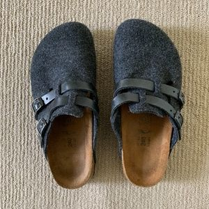 Birkenstock Birki's Camden Wool Felt Clogs 37